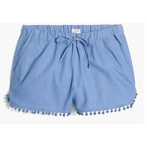 J. Crew Blue Bobble Shorts